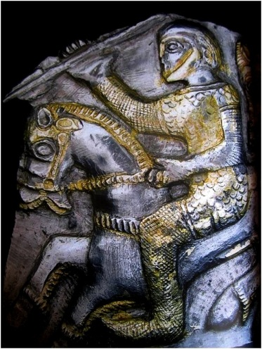 depiction of celt chainmail