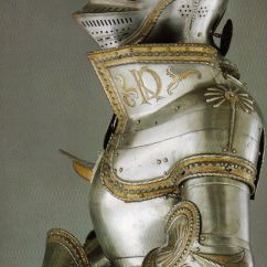 gilded plate armour