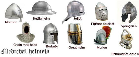 medieval-helmets-illustration